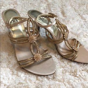 MARINELLI Gold Heels